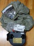 画像2: 米軍実物 3M ガスマスク BUTYL HEAD COVER  (2)