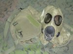 画像1: 米軍放出品,M17 ガスマスク M (1)