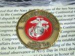 画像2: 米軍放出品 U,S,M,C 記念メダル (2)