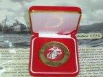 画像1: 米軍放出品 U,S,M,C 記念メダル (1)