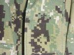 画像4: 米軍実物 US NAVY, 迷彩ジャケット TYPEIII L-S (4)