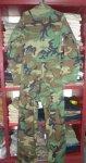 画像3: 米軍実物,迷彩 メカニックカバーオール S (3)