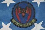 画像1: 米軍実物  44th Fighter Squadron フライトジャケット (1)