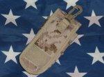 画像2: 米軍放出品,デザートピクセル ポーチ (2)