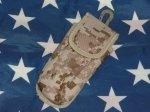 画像1: 米軍放出品,デザートピクセル ポーチ (1)