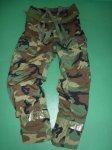 画像5: 米軍実物 科学防護服 ウッドランド柄  ケミカル ジャケト/パンツ SET M-R (5)