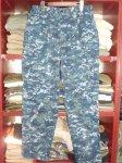 画像1: 米軍実物 US NAVY, 迷彩パンツ L-R (1)