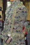 画像1: 米軍実物 EAGLE ショルダーホルスター 右用1911 (1)