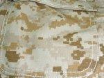 画像5: 米軍放出品,AMERICAN PATRIOT デザートピクセル カバーオール XL (5)