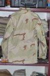画像2: 米軍実物 デザート3C M-65フィールドジャケット S-R (2)