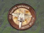 画像1: 米軍放出品 122nd FIGHTER SQUADRON (1)