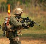 画像2: 米軍放出品 TRI‐FOLD ASP製 ナイロン ハンドカフ  (2)