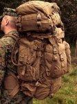 画像1: 海兵隊実物  USMC Pack System FILBE メインパックシステム  (1)