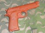 画像2: 米軍実物 ASP 7301 Red Training Gun BER 92/ (2)
