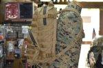 画像2: 海兵隊実物 USMC PACK  FILBE アサルトパック コヨーテ (2)