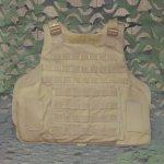 画像9: 海兵隊実物 USMC IMTV ボディアーマー プレートキャリア L (9)
