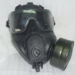 画像8: 米軍実物 エボン M53 ガスマスク L (8)