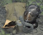 画像1: 米軍実物 エアークラフト M24 ガスマスク  (1)