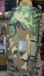 画像1: 米軍実物 NBC ケミカルキャリーバッグ  ウッドランド (1)