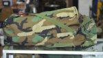画像2: 米軍実物 NBC ケミカルキャリーバッグ  ウッドランド (2)