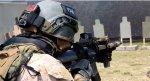 画像1: 海兵隊実物 オードナンス製 OPS-CORE ヘルメット ストロボ ホルダー (1)