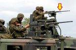 画像1: 米軍実物 ブローニング M2 バレル キャリング ハンドル  (1)