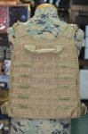 画像3: 米軍実物 FSBE PLATE CARRIER L/XL MBSS   ALLIED MEU MARSOC RECON (3)