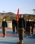 画像7: 海兵隊実物 ジャングル ウォーフェア トレーニングセンター  スウェットパーカー キッズ150 (7)