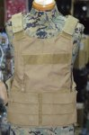 画像1: 海兵隊実物 アライド LVAC Low Vis アーマーキャリア コヨーテ FSBE RECON  (1)