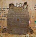 画像4: 海兵隊実物 USMC MCPC プレートキャリア PC M (4)