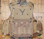 画像1: 米陸軍特殊部隊実物 AWS/PLATE CARRIERS 50990 CQB Vest System SPEARS (1)