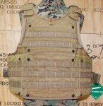 画像5: 米陸軍特殊部隊実物 AWS/PLATE CARRIERS 50990 CQB Vest System SPEARS (5)