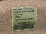 画像17: 米陸軍特殊部隊実物 AWS/PLATE CARRIERS 50990 CQB Vest System SPEARS (17)