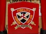 画像2: 海兵隊実物  12th Marine Regiment 記念品 鳥居 (2)