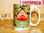 画像1: 米軍放出品 US MARINE マグカップ (1)