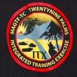 画像2: 米軍放出品 USMC MAGTF-TC Tシャツ M (2)