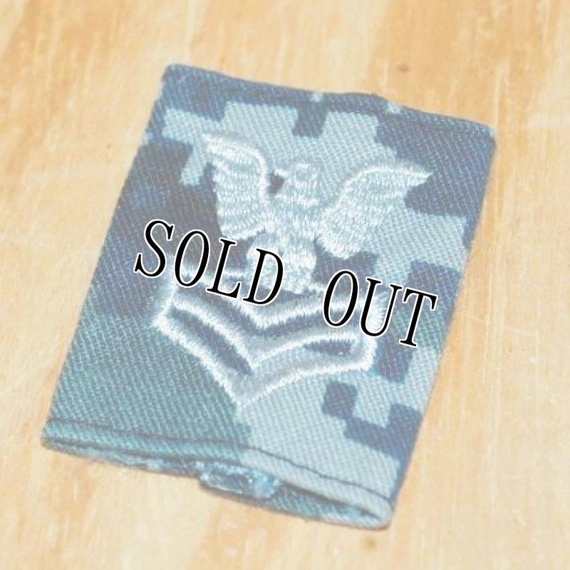 画像1: 米軍実物 U.S.NAVY  ゴア  階級章 ペティオフィサー・ファーストクラス (1)