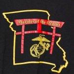 画像4: 米軍放出品.Marines of the Ozarks スウェットトレーナー M (4)