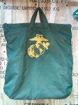 画像1: 米軍放出品 USMC Royal Bag ヘルメットバッグ 刺繍入り (1)