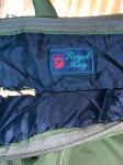 画像4: 米軍放出品 USMC Royal Bag ヘルメットバッグ 刺繍入り (4)