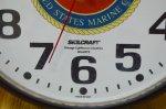 画像2: 米軍放出品.SKILCRAFT USMC 壁掛け時計 (2)