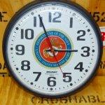 画像1: 米軍放出品.SKILCRAFT USMC 壁掛け時計 (1)