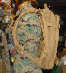 画像4:  米軍放出品 キャメルバック MULEミリタリー  ハイドレーションパック  (4)