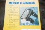 画像3: 米軍放出品 RAINE ブラック パス・GPS アームホルダー   (3)