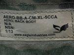 画像18: 希少!米陸軍実物 EAGLE製 SOFLCS SOFBAV AERO  アサルト マルチカム プレートキャリア (18)
