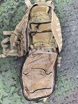 画像7: 米軍実物 S.O.Tech Medical Trauma Backpack - MPMD Coyote Brown   (7)