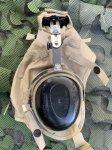 画像4: 米海軍実物 aegisound イヤーマフ CLOTH HELMET セット  防音ヘッドホン  (4)
