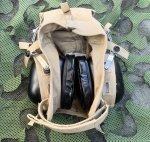 画像2: 米海軍実物 aegisound イヤーマフ CLOTH HELMET セット  防音ヘッドホン  (2)