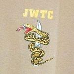 画像2: 海兵隊実物 ジャングル ウォーフェア トレーニングセンター Tシャツ TAN XL (2)
