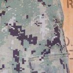 画像3: 米軍実物,US NAVY, AOR2 NUW 迷彩パンツ TYPEIII L-R (3)